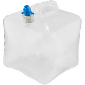 CAMPZ Water Canisters Folding 10L transparent